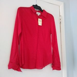 Coldwater Creek NWT Blouse